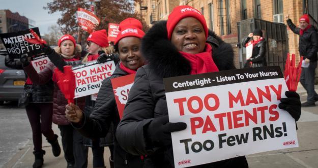 Nurses Standing Up for Safe Staffing