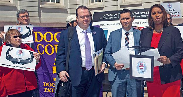 State answers sos on safety-net hospitals | New York State Nurses