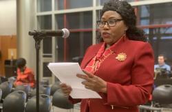 Flandersia Jones testifies at MRT public hearing
